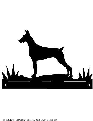 STEEL BLACK POWDER COAT FINISH CHIHUAHUA  MAILBOX TOPPER no name