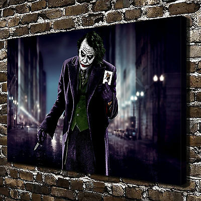 "24""x36""DC Batman Joker poster  Canvas Print Home Decor Paintings Wall Art Poster"