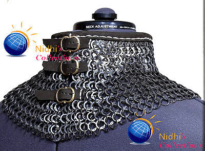 Coller Medieval Armour Chainmaille 9Mm Flat Riveted With  Washer
