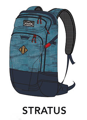 Mochila/Backpack - DAKINE - HELI PRO 20L - SNOW PACK - STRATUS - SNOWBOARD CARRY