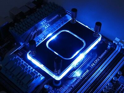 XSPC RayStorm V3 AMD AM4 Compatible WaterBlock, Special BLUE Version
