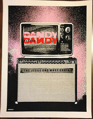Jesus And Mary Chain 2015 Tour Poster