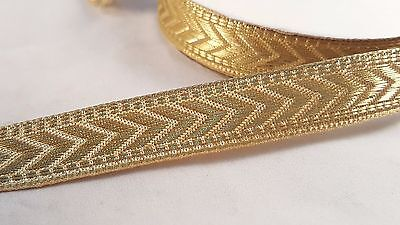 2cm- 2 meter Gorgeous gold embroidered ribbon lace trim for crafts decor DIY