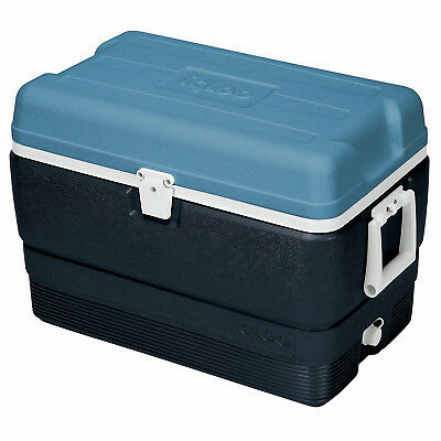 IGLOO CORPORATION - Maxcold Ice Chest, Ice Blue & White, 50-Qts.