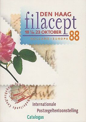 Filacept 88 catalogus, Internationale postzegeltentoonstelling te Den Haag 1988
