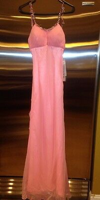 Nwt Women's Misses Sz 6 Pageant Gown Dress Prom Evening Formal Tiffany