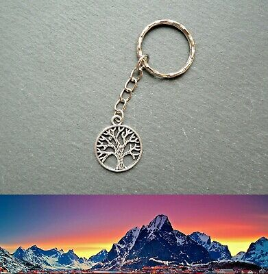 Lord of the Rings  Keyring White Tree of Gondor Middle-earth Ringer Silver Gift