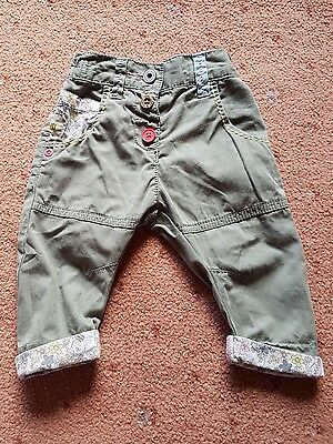 Baby girl NEXT trousers 3-6 months
