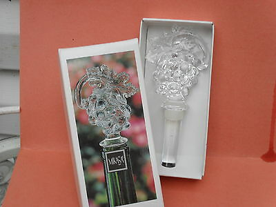 Mikasa-- Bottle Stopper -- Grapes -- Fruit Collection --New In Box