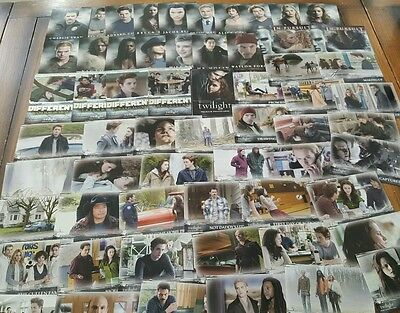 Job Lot of 152 Twilight / New Moon Topps Premium Photocards