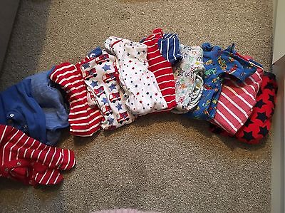 11 Next Baby Boys Baby Grow Up To 3 Months Bundle