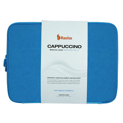 Wholesale Lot of 15, Blue Cappuccino Sleeve Case Bag For 15 Inch MacBook Pro