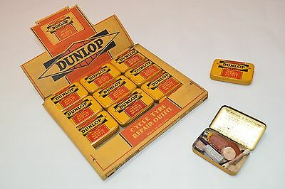 (1) Vintage Dunlop Cycle Tire Repair Outfit Midget Tyres Tin Tools Tube 50s 60s