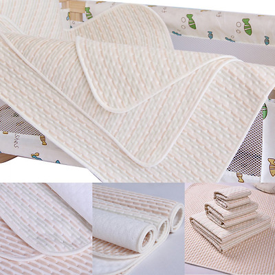 Baby Waterproof Changing Mat Infant Urine Crib Mattress Pad Cover Protector(32x4