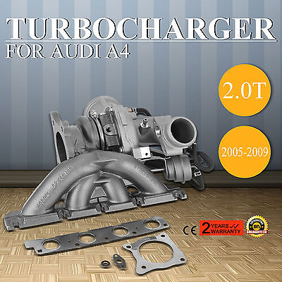 For 2005-10 Audi A4 2.0T B7 BUL BWE BWT Genuine K03 OEM Turbo Charger 06D145701G