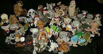 50 Coca-Cola Collectible Bean Plush Animals