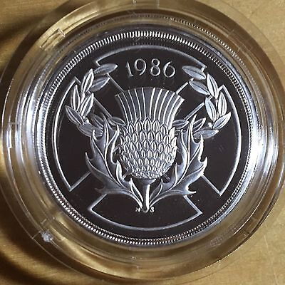 Great Britain 1986 Silver Two Pounds, Proof, KM-947b