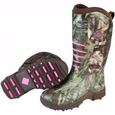 Muck Boots Womens Pursuit Stealth Boot Realtree Xtra Pink Size 10 Wps-Rtx4-10