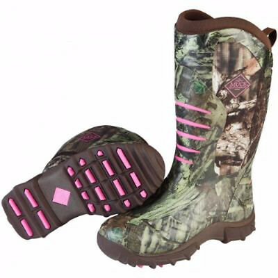 Muck Boots Muck Womens Pursuit Stealth Boot Realtree Xtra Pink Size 9 Wps-Rtx4-9