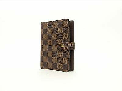 Louis Vuitton Authentic Damier Agenda fonctionnel PM Diary cover Auth LV