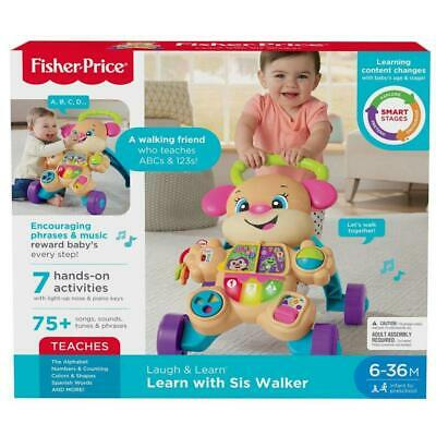 Fisher Price Laugh & Learn Smart Stages Learn with Sis Walker Music Activity Toy