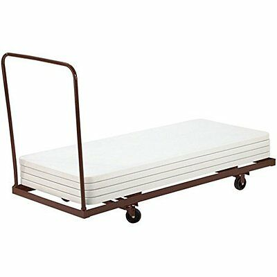 National Public Seating National Public Seating Flat Stacking Table Cart New