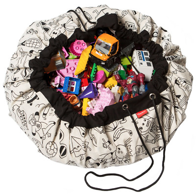 Play and Go Lego Toy Storage Bag in OMY Colour Your Bag print