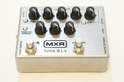 MXR M80 Silver Bass DI+ Japan Limited Edition Direct Box Preamp Distortion
