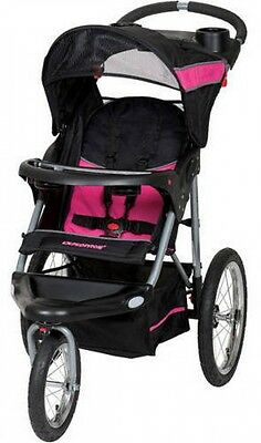 BABY JOGGER STROLLER Lightweight Toddler Folding 3 Wheels Reclining Cart