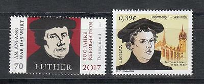 Lietuva Germany 2017  MNH** Mi.1234 500 Year of Reformation Martin Luther