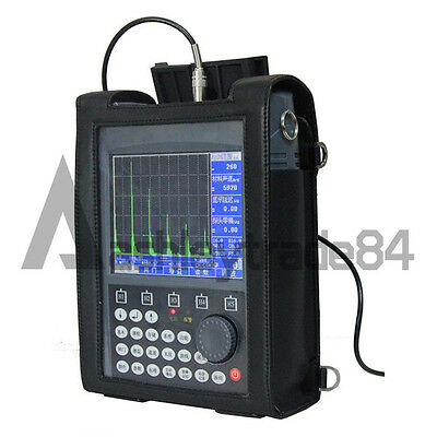 SUB120 Ultrasonic Flaw Detector Defectoscope 0~9999mm DAC AVG Curve+Echo code