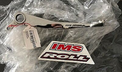 YFZ 450 NOS IMS Roll Design Polished Brake Pedal Lever Obsolete NIB 04-09 12-15