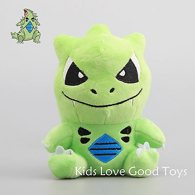 Pokemon Tyranitar Plush Toy Soft Stuffed Animal Doll 7'' Figure Kids Gift