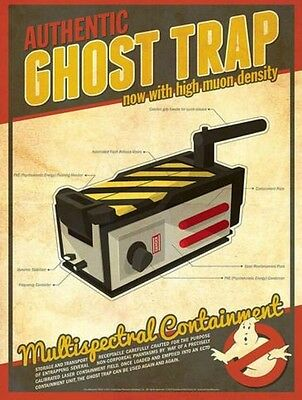 Child Size Ghostbusters Ghost Stunt Trap With Removable Cartridge