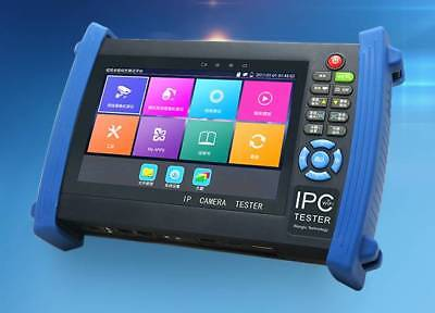 """IPC-8600H 7"""" Touch Screen CVBS IP HD-TVI Camera PTZ Control Tester For Hikvision"""