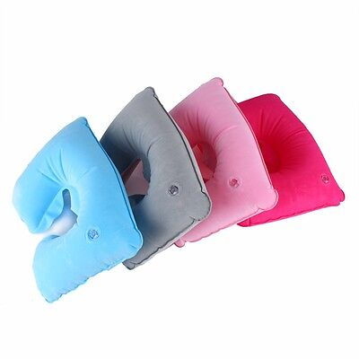 1pc New U Shape Neck Rest Air Inflatable Pillow Camping Neck Protection Cushions