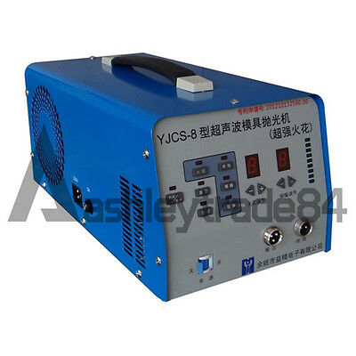 Superacid Sparks Ultrasonic Mold Polisher Polishing Machine YJCS-8