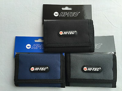 Hi-Tec Mens Boys Trifold Sport Style  Wallet  Credit Card Holder Coins Purse