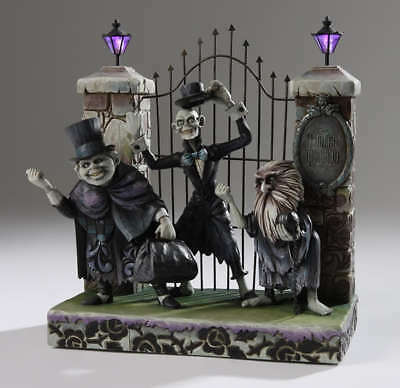 DISNEY HAUNTED MANSION HITCHHIKING GHOSTS 999 EVENT (Original with LED Lanterns)