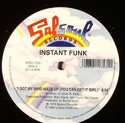 "INSTANT FUNK - I Got My Mind Made Up (You Can Get Girl) - Vinyl (12"")"