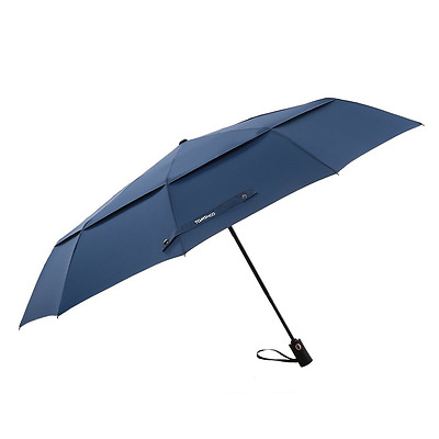 TOMSHOO 50 Inch Large Windproof Golf Umbrella Auto Open Close Compact Double