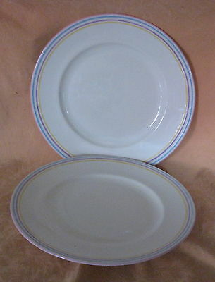 2 x UNUSED BHS British Home Stores Spectrum Dinner Plates - more available