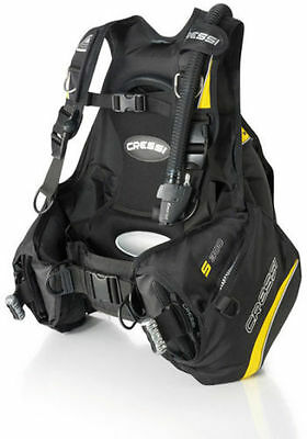 Cressi S300 Jacket Style Scuba Diving BCD-XSM