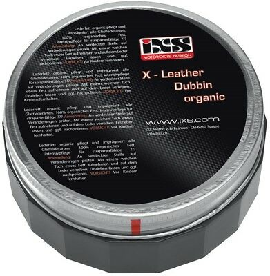 36,- Euro/Liter - IXS Leather Dubbin Organic - organisches Lederfett - 150ml