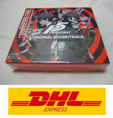 3-7 Days to USA DHL Delivery. New Persona 5 Original Sound Track 3 CDs Japanese