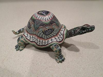 Fimo Creations Jon Anderson Turtle Polymer Clay Handmade Early 1999
