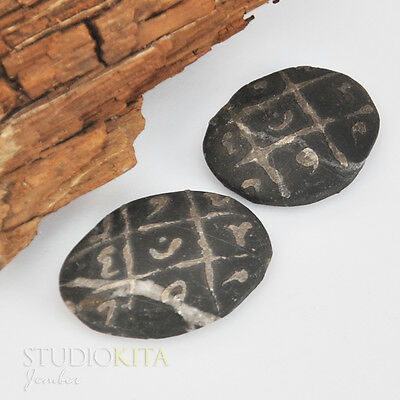 Black Stone Sulaiman Wafak Talisman For Glory and Wealth Indonesia Amulet SK729
