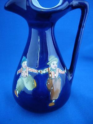 "Vintage ""Holland"" Dutch  children small jug / vase.ship mark to base."
