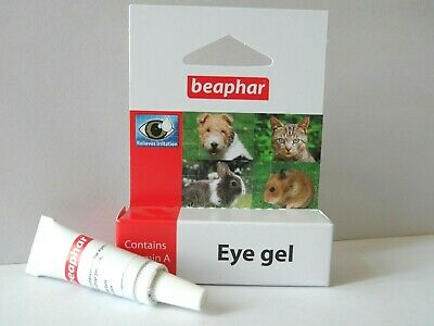 EYE GEL, for Dogs, Cats & Small Animals. Beaphar. Relieves Irritation & dry eyes