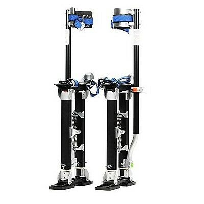 Pentagon Tool Mag Pros Magnesium 18in-30in Black Drywall Stilts Highest Quality